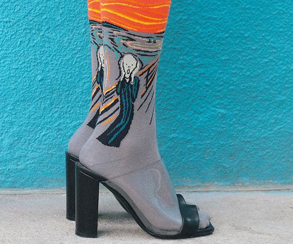 6 Ways to Rock the Art Sock