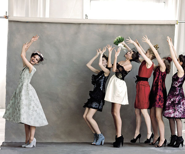 10 Chic Nontraditional Bridesmaid Dresses