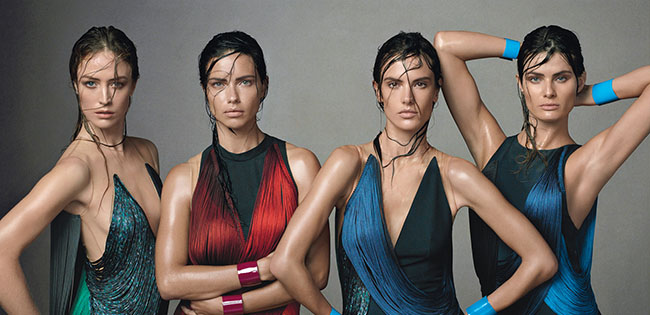4 Brazilian Models Get Ready for the World Cup